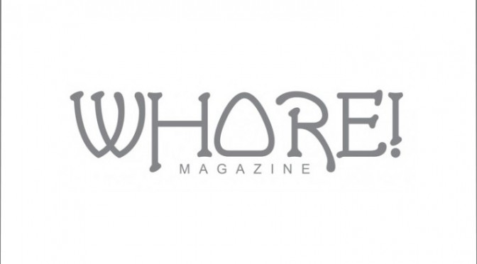 Whore Magazine Logo