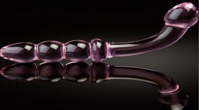 Glass dildos offer the firm pressure that the G-Spot & Prostate really enjoy...
