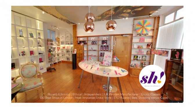 Sh! Women's Erotic Emporium, 57 Hoxton Square. London N1 6PB