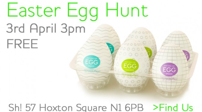 Easter Egg Hunt at Sh!