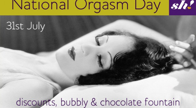 National Orgasm Day Blog