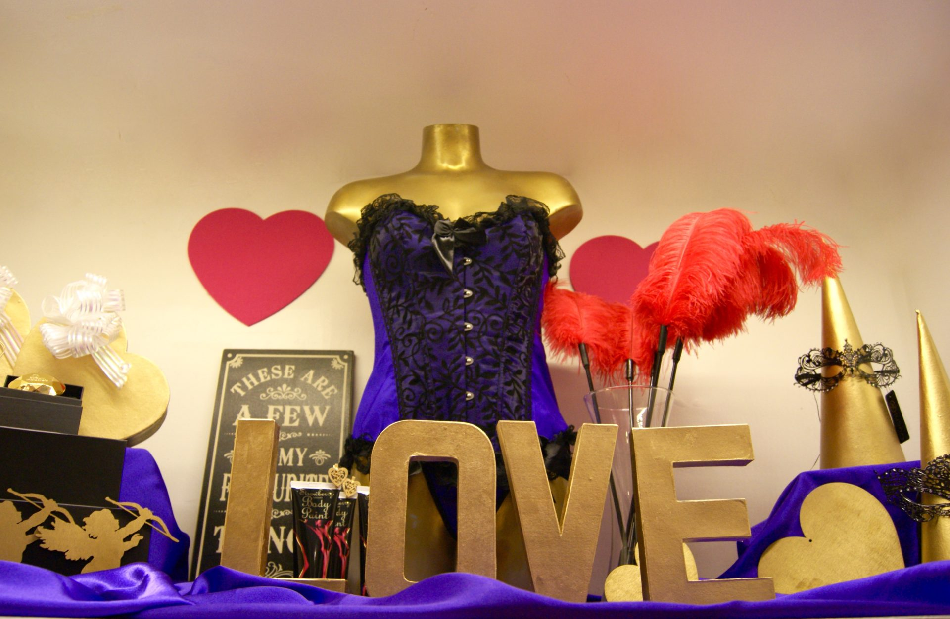 Sex Shop Diaries – The Week Coming up to Valentine's Day