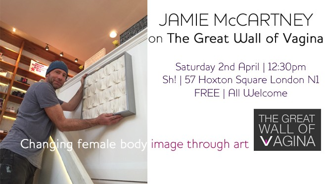 Talk & Book Signing: Jamie McCartney on The Great Wall of Vagina