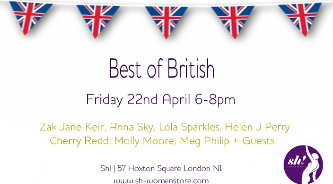 Best of British Erotica | Friday 22nd April | FREE