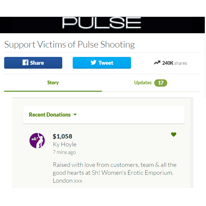 Pride Alert: We raised $1,058 for the Pulse Victims Fund