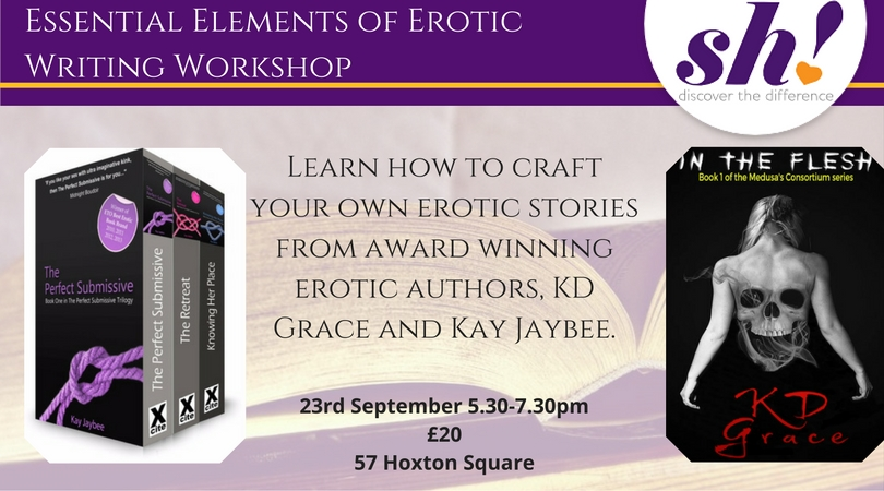 Essential Elements of Erotica Writing Master Class