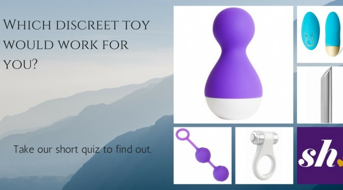 Which discreet toy would work for you-