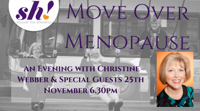 Move Over, Menopause! An Evening with Christine Webber & Special Guests