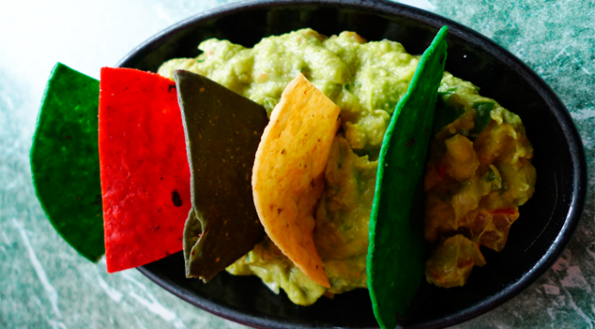 'The tortilla chip strong enough to support guacamole'