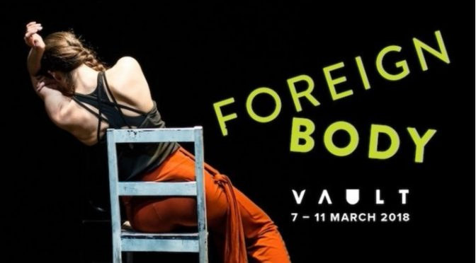 Guest Post: Imogen Butler-Cole on 'Foreign Body' at VAULT Festival