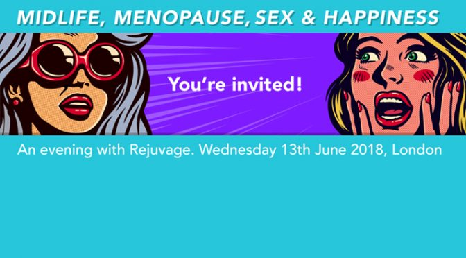 Midlife, Menopause, Sex & Happiness Event