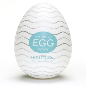 Tenga Egg (£10) make fun, cool gifts for men