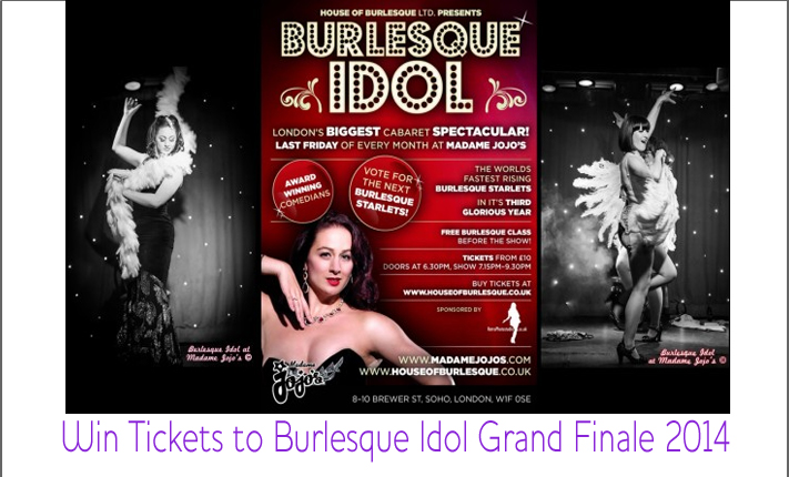 Win Tickets to Burlesque Idol Grand Finale 2014