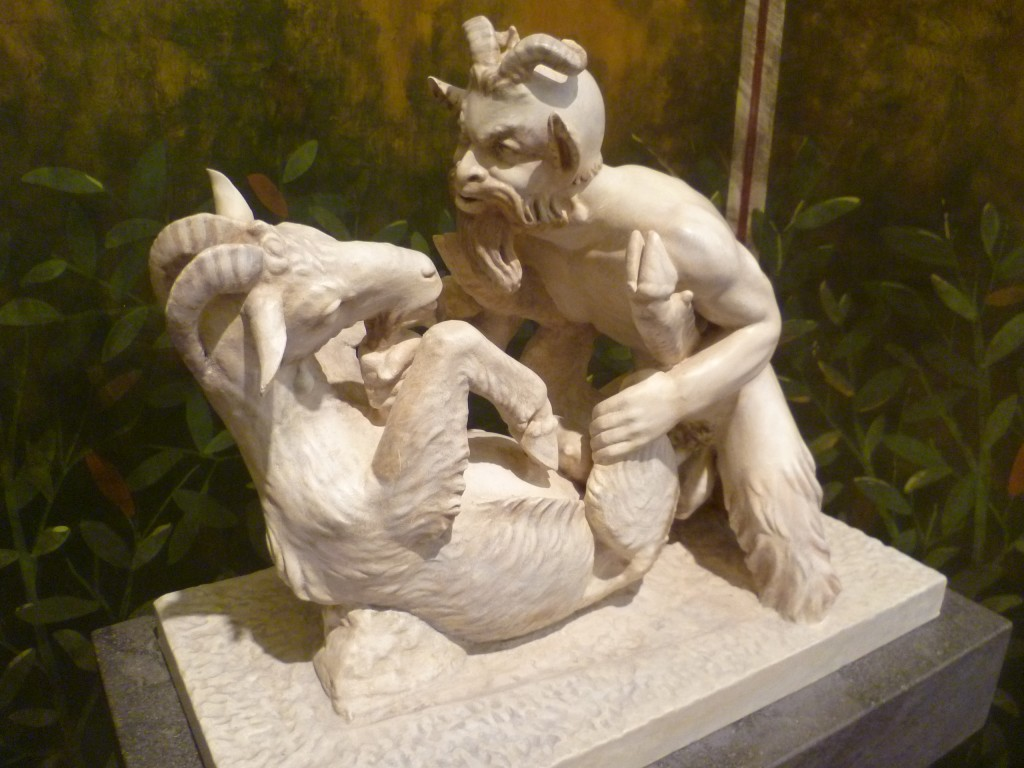 'Pan copulating with goat' - one of the most famous objects in the Naples Museum collection CC BY-SA 3.0