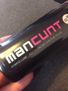 man cunt lube